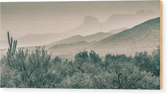 Apache Trail Wood Print