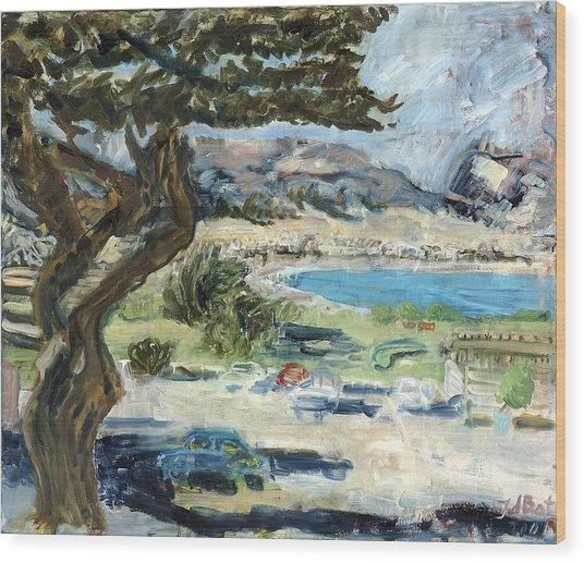 Apollo Bay Wood Print by Joan De Bot