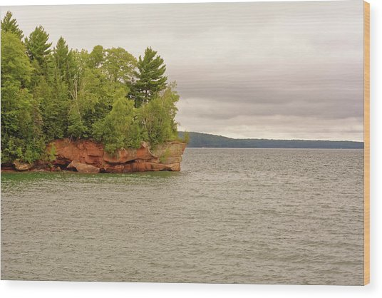 Apostle Islands Wood Print