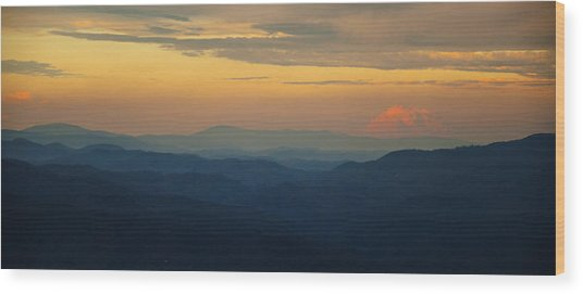 Appalachian Sky Wood Print