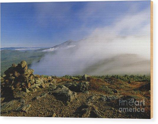 Appalachian Trail - White Mountains New Hampshire Usa Wood Print