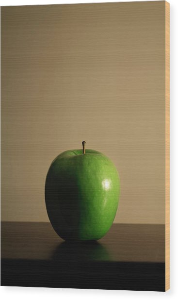 Apple Wood Print