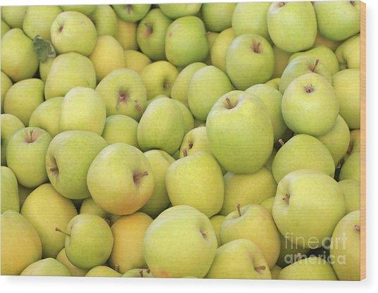 Apples Wood Print