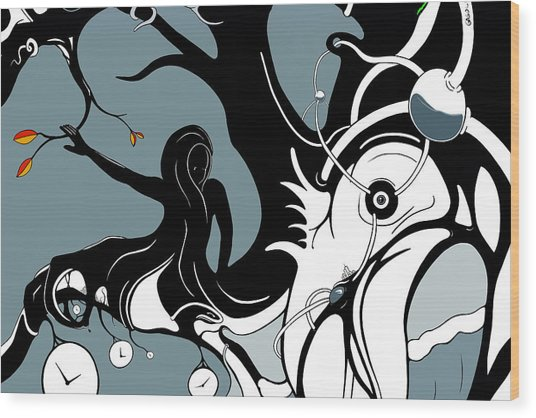 Aqualimb Wood Print