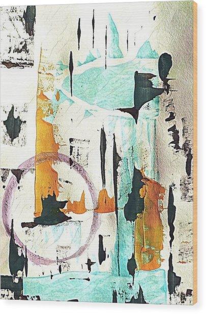 Aquarius  Wood Print