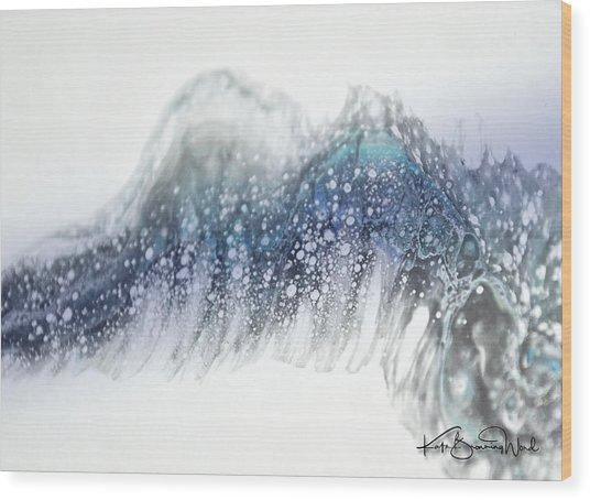 Aquatic 2 Wood Print