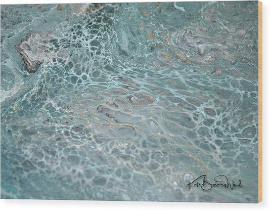 Aquatic 3 Wood Print