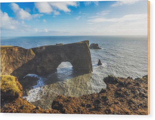 Wood Print featuring the photograph Arch by James Billings