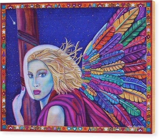 Archangel Ariel Wood Print