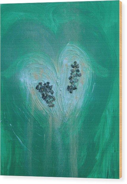 Archangel Raphael Wood Print by Emerald GreenForest