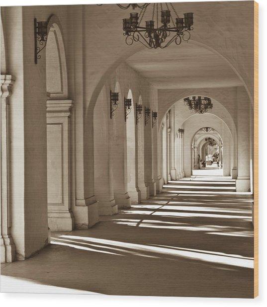 Arches I Wood Print