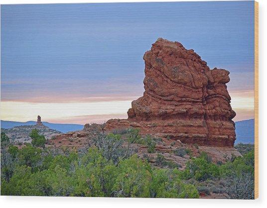 Arches National Park No. 1-1 Wood Print