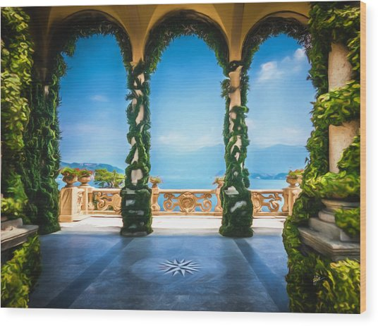 Arches Of Italy Wood Print