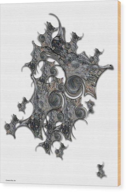 Architectonic Self Wood Print