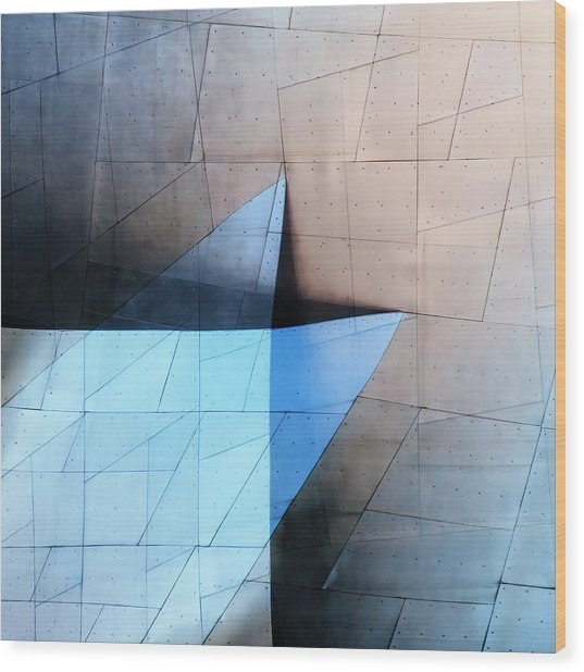 Architectural Reflections 4619c Wood Print