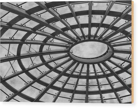 Architecture Bw 8x12 Wood Print