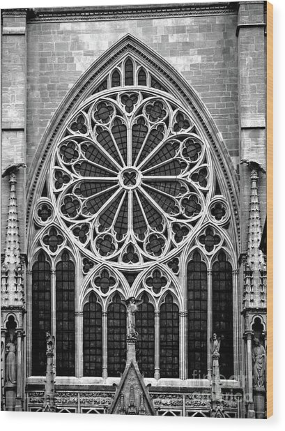 Architecture_06 Wood Print