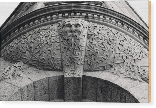 Archway In Old Montreal Wood Print by Henry Krauzyk