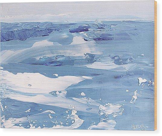 Arctic Ocean Wood Print