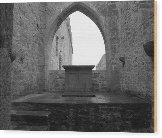 Ardfert Cathedral Wood Print