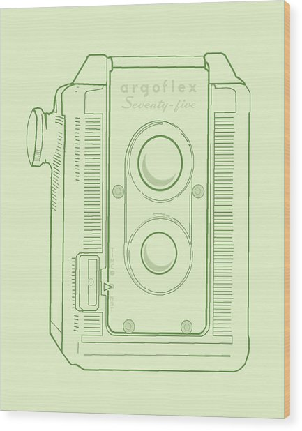 Argoflex Green Wood Print