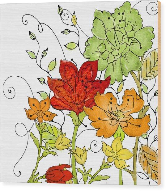 Aria II Wood Print