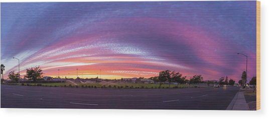 Armijo Sunset Wood Print