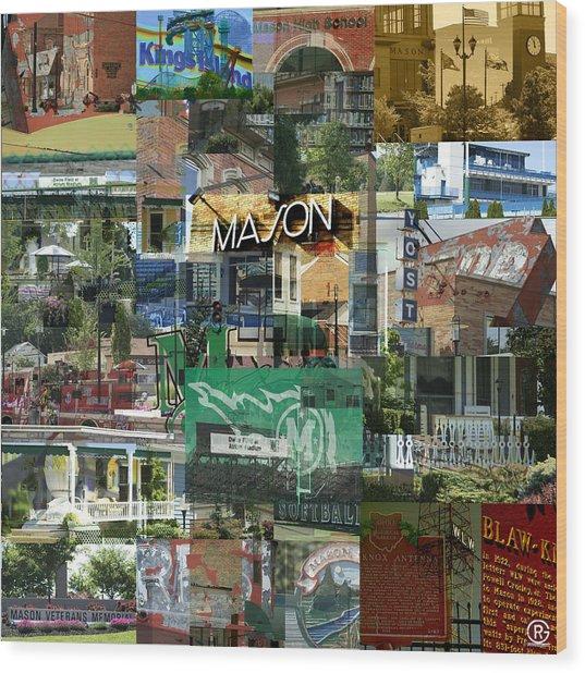 Around Mason 3 Wood Print
