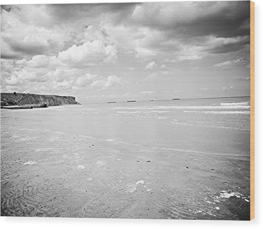 Arromanches-les-bain Wood Print