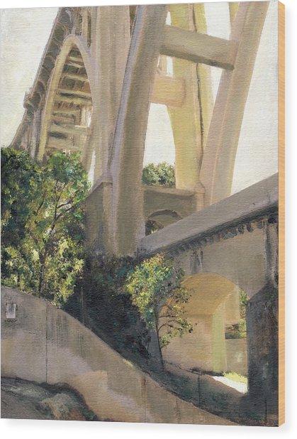 Arroyo Seco Bridge Wood Print