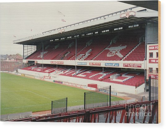 Arsenal - Highbury - East Stand 3 - 1992 Wood Print