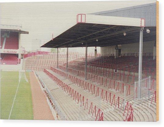 Arsenal - Highbury - North Bank 2 - 1992 Wood Print