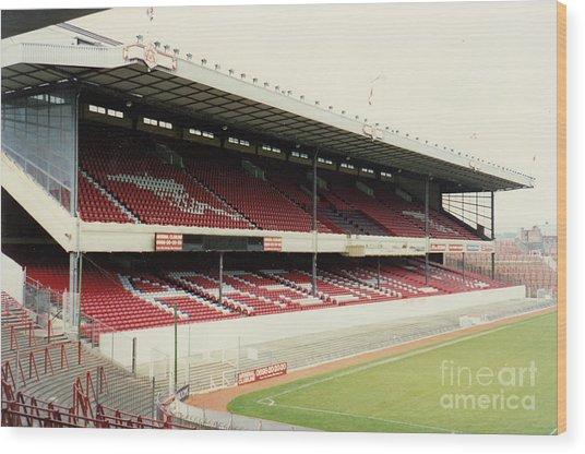 Arsenal - Highbury - West Stand 4 - 1992 Wood Print