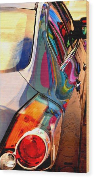 Art Car Wood Print
