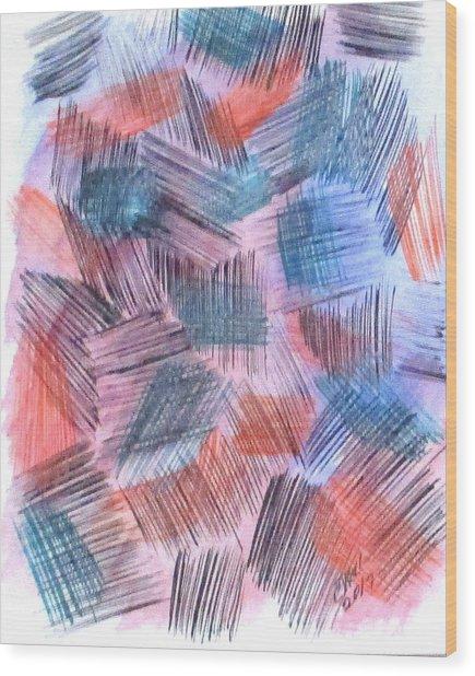 Art Doodle No. 23 Wood Print