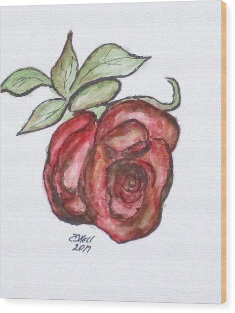 Art Doodle No. 29 Wood Print