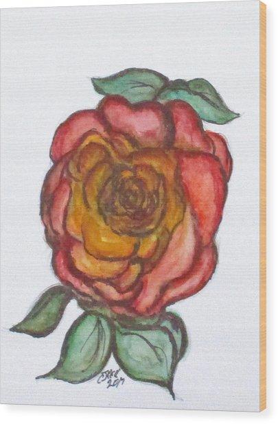 Art Doodle No. 30 Wood Print