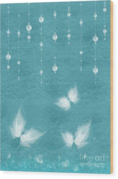Art En Blanc - S11bt01 Wood Print
