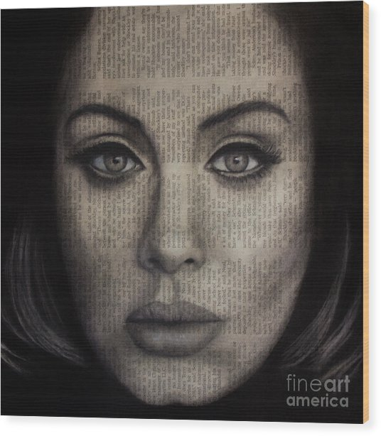 Art In The News 72-adele 25 Wood Print