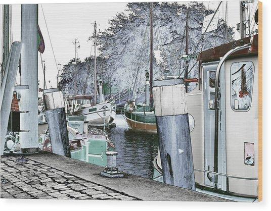 Art Print Boat 2 Wood Print
