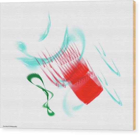 Art_0006 Wood Print