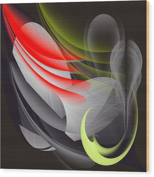 Art__0012 Wood Print