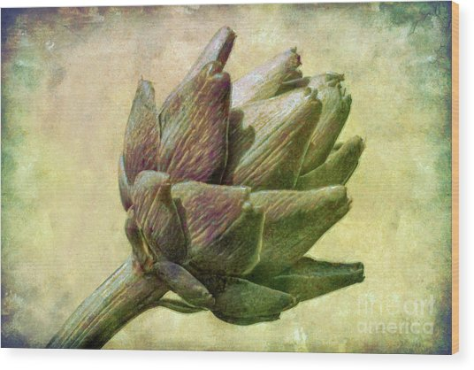 Artichoke Wood Print