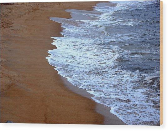 Artistic Impression Plum Island Wood Print
