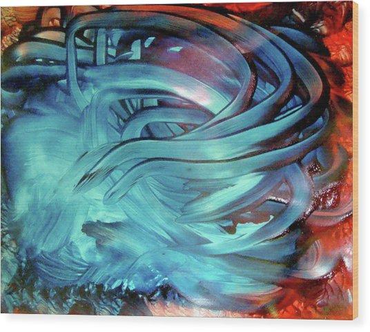 Artscape II Wood Print by Leigh Odom