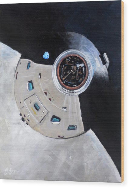 As-503 Apollo 8 Wood Print