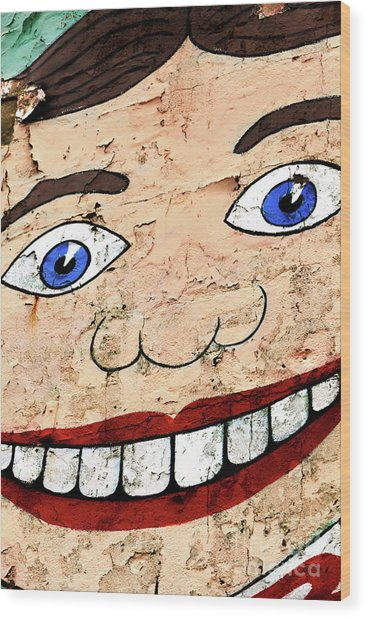 Asbury Tillie Smile Wood Print