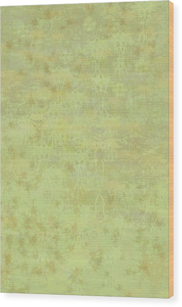 Ascending Zen Wood Print