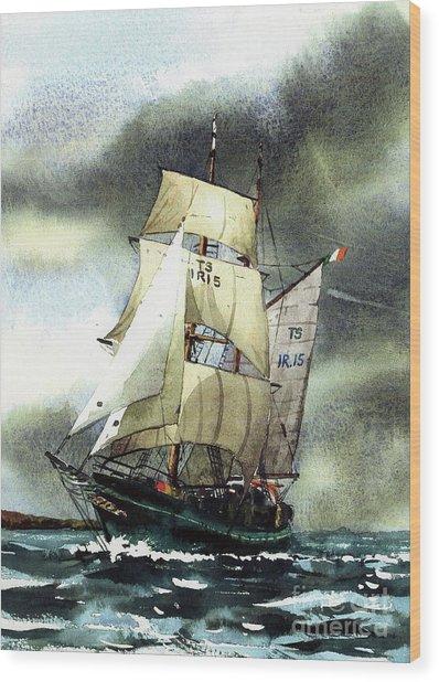 F  758  Asgard 11 Often Sailed Along The Wild Atlantic Way Wood Print
