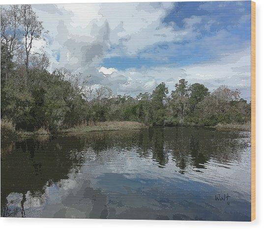 Ashley River Wood Print
